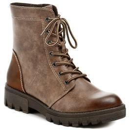 Tamaris 1-25209-27 hnědé kotníčkové boty, 36