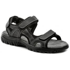 Cortina.be Bio Comfort 6-707405 černé pánské sandály, 44