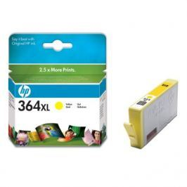 HP 364XL, Yellow Ink Cart, 6 ml, CB325EE