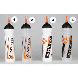 Hokejová lahev ARTIS 1,0 l, 1 bílá