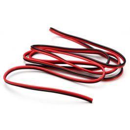 TLE Kabel  dvojlinka pro LED pásek černo/rudá (balení 10m)