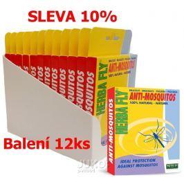 Herba Fly Anti Mosquitos-náramek komár-12KS