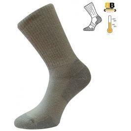 Lasting Trekkové zimní ponožky  Horal, 34 - 37, Světle šedá