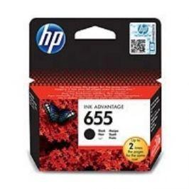 HP 655 Black Ink Cart, 14 ml, CZ109AE
