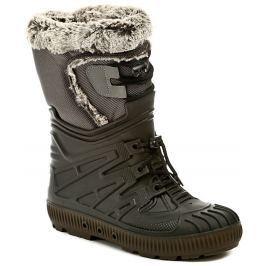 Italy Top Lux 8402 černé dámské sněhule, 35