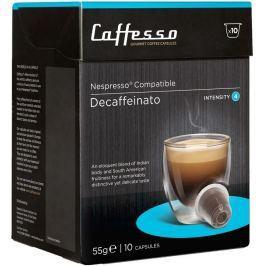 Caffesso kávové kapsle Decaffeinato, intenzita 3, (10 kapslí)
