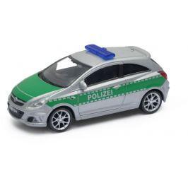 Welly - Opel Corsa OPC model 1:43 policie zelené
