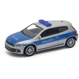 Welly - VW Scirocco model 1:43 policie modré
