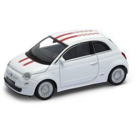 Welly - Fiat 500 model 1:43  bílá