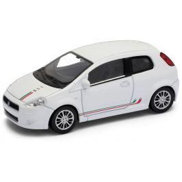Welly - Fiat 500 model 1:43 Sport bílá