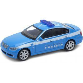 Welly - BMW 330i 1:43 policie modrá