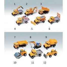 Welly - Urban Spirit Stavební stroje 1 ks -  náklaďák č.7