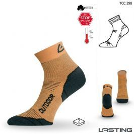 Lasting Trekingové funkční ponožky  Tcc, 34 - 37, Žlutá