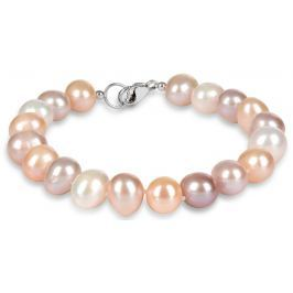 JwL Luxury Pearls Náramek z pravých multibarevných perel JL0364
