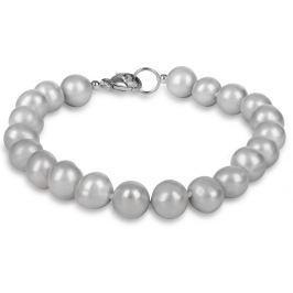 JwL Luxury Pearls Náramek z pravých šedých perel JL0359