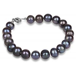 JwL Luxury Pearls Náramek z pravých modrých  perel JL0360