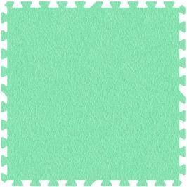 MALÝ GÉNIUS Pěnový koberec  - XL 1 dílek, 8mm, zelený (díl 60cm)