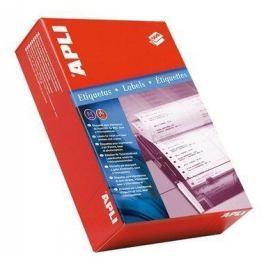 APLI Tabelační etiketa, dvouřadé, 101,6 x 48,7mm, 6000ks/bal.,