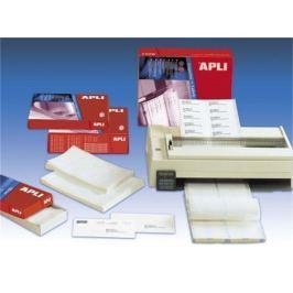 APLI Tabelační etiketa, třířadé, 66 x 10,6mm, 36000ks/bal.,