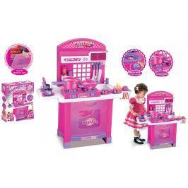 G21 Dětská kuchyňka  Superior s příslušenstvím růžová