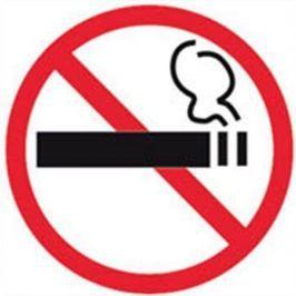 APLI Samolepící etiketa, Zákaz kouření,