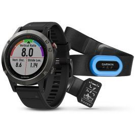 Garmin fenix5 Sapphire Black Optic TRI Performer, Black band
