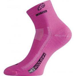 Lasting Vlněné ponožky  WKS::34 - 37; Růžová