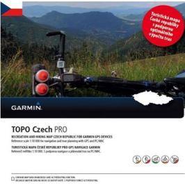 Garmin Topo Czech PRO 2015, microSD/SD karta