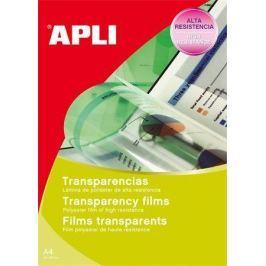 APLI Fólie pro zpětné projektory, pro černobílý laserový tisk, A4,