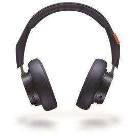 Plantronics Backbeat GO 600 stereo headset, bluetooth v 3.0, modrý