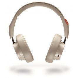 Plantronics Backbeat GO 600 stereo headset, bluetooth v 3.0, béžová