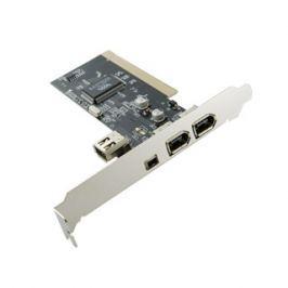 4World 4-portový řadič (3+1) FireWire /1394 na kartě PCI