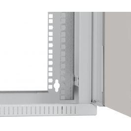 NetRack Závěsný datový rozvaděč 19''  9U/240 mm, skleněné dveře, barva popelavá