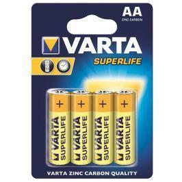 Varta zinc carbon batteries R6 (AA) 4pcs superlife