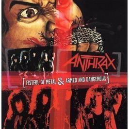 CD Anthrax : Fistful Of Metal/Armed And Dangerous