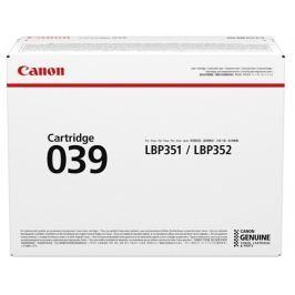 Canon CRG 039, černý