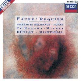 CD Fauré - Dutoit : Requiem