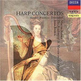 CD Handel / Boieldieu / Dittersdorf : Harp Concertos (Robles)
