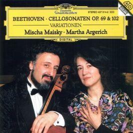 CD Ludwig van Beethoven : Cellosonaten Op.69 & 102