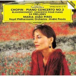 CD Chopin :Piano Concerto / No. 2 / 24 Preludes Op. 28  (Pires)