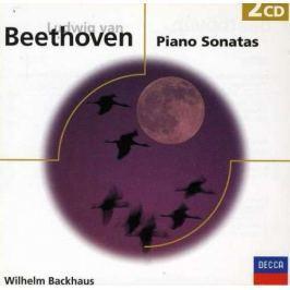 CD Beethoven : Klavírní sonáty (Backhaus)