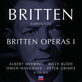 CD Benjamin Britten : Conducts Britten Operas 1