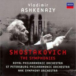 CD Shostakovich-ashkenazy - Symfonie 1-15,