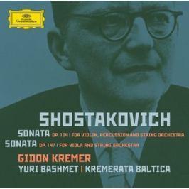 CD SHOSTAKOVICH - KREMER / HOUSLOVE SONATY
