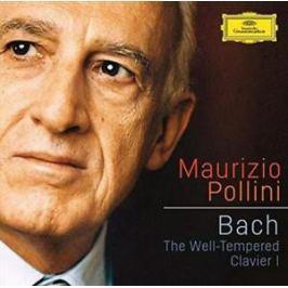 CD Bach :  Dobře Temperovaný Klavír I (Pollini)