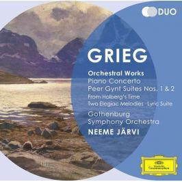 CD Grieg - Järvi: Orchestrální Skladby