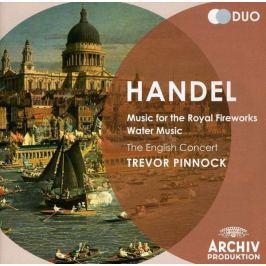 CD G. F. Handel : Music For The Royal