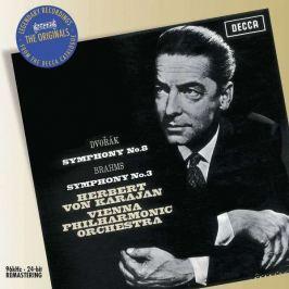 CD Dvořák / Brahms : Symphony No.8 & 3