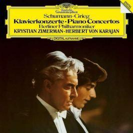 Schumann / Grieg - Karajan: Piano Concertos LP