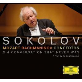 DVD Mozart & Rachmaninov : Concertos (Grigory Sokolov) CD+